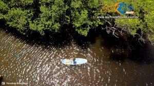 SUP no Rio Guaju