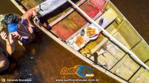 Espeto de Lagosta e Camarão no Sagi